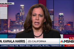 Harris: Trump comments simply irresponsible