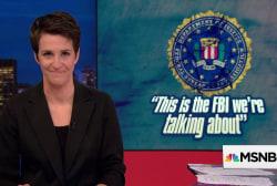 Trump adds 'treason' to FBI smear