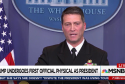 White House doctor enthusiastic about Trump
