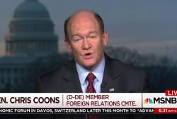 Trump could move us forward, says Democratic senator