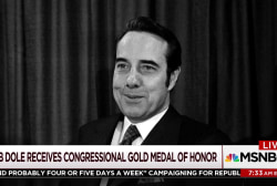 Bob Dole honored with Congressional Gold Medal
