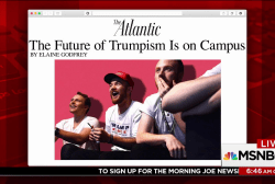 Trump dividing campus conservatives: Atlantic