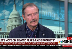 Mexicans have been offended by Trump: Vicente Fox