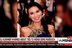 Kushner warned about ties to Wendi Deng Murdoch: WSJ