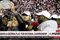 What to watch for in Alabama vs. Georgia game