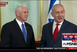 Haass: Pence uses troops as props while overseas