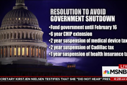 GOP leaders offer bill to avert government shutdown