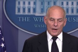 Trump and Kelly seem to disagree on border wall