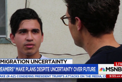 "College-age ""Dreamers"" worry as immigration negotiations stall"