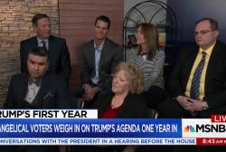 Evangelical Trump voters weigh in on Trump's presidency