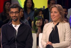 'We want to fix it': Google, YouTube CEOs on election meddling