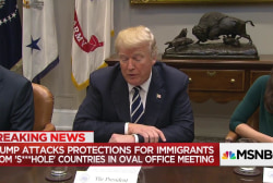Trump slams 'shithole' countries in meeting on immigration, Dem. source says