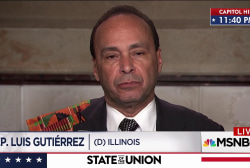 Rep. Gutiérrez discusses why he attended the SOTU.