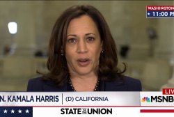 Harris: Trump SOTU fell short on truth