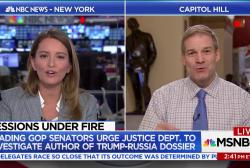 Rep. Jim Jordan thinks Trump dossier 'is garbage'