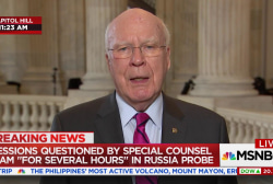 "Leahy: ""We've never had a fully satisfactory answer"" from Sessions"