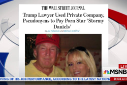 Trump's lawyer accused of paying off porn star