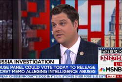 Rep. Gaetz: Problem is with Mueller's present, not past