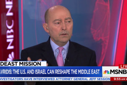 Stavridis: The U.S. and Israel can reshape the Middle East