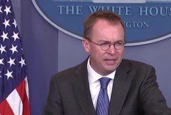 Budget chief Mulvaney: 'We're calling this Schumer Shutdown'