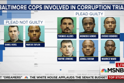 Baltimore police officers accused of rampant crime and corruption