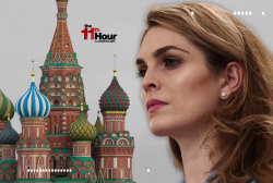 Trump aide Hope Hicks faces Russia questions on Cap Hill
