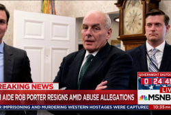 Is Trump looking to replace Chief of Staff John Kelly?