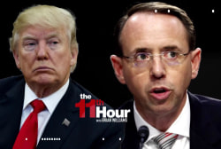 After Nunes memo's release, Trump fails to back Rosenstein