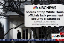 Dozens in Trump White House lack permanent security clearance