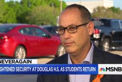 Students make an emotional return to Douglas High School