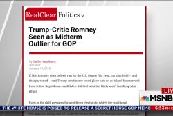 Romney hints at Senate run in Utah