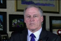 Gov. Inslee: We're not getting presidential leadership on gun control