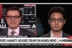 """Did Hannity convince Trump to """"release the memo""""?"""