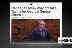 Georgia GOP threatens to punish Delta over NRA discount