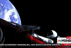 There's now a sports car orbiting the sun