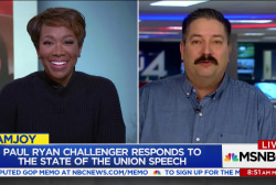 Paul Ryan opponent 'Iron Stache' on State of the Union