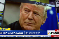 Rep. Swalwell: president willing to do anything to obstruct