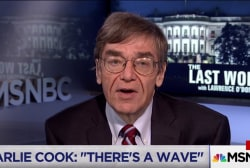 Charlie Cook after Dem win in Trump country: There is a wave