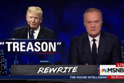 Lawrence: What Donald Trump doesn't know about treason