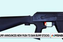 Trump asks DoJ for recommendations on bump stock regulation