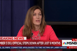 Trump closer to ending Russia probe as Rachel Brand quits DoJ