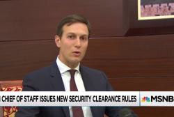 New White House security rule could force Kushner, others out