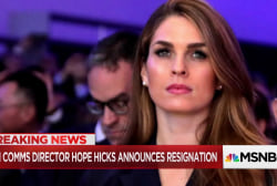 'Javanka' faction falling apart as Hope Hicks, others quit W.H.