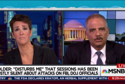 Holder: Indicting a president not settled law