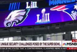 What does it take to protect the Super Bowl?