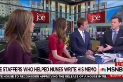 Who are the men behind the Nunes memo?