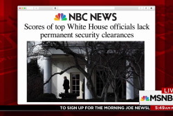 Security clearance hurdles beleaguer White House