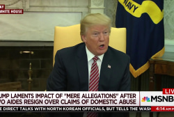 President calls for due process in Porter allegations