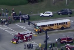 Reports of a school shooting in Florida