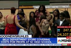 #GoodNewsRuhles: Belk funds SC High School Prom